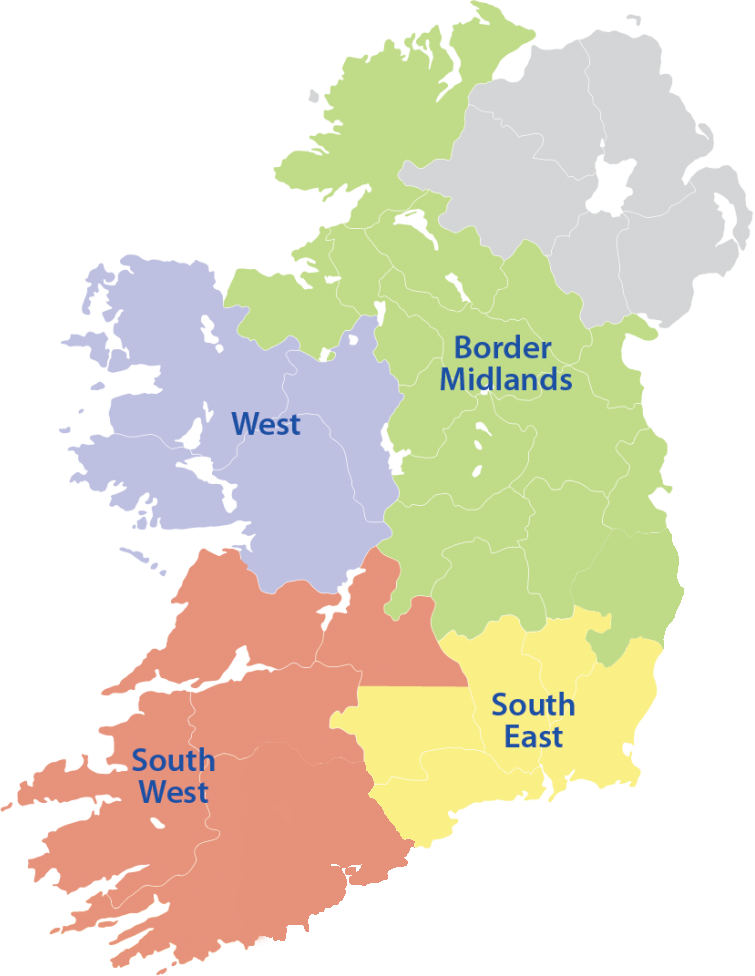 Map Of Ireland Midlands.Social Framing Ireland Map 01 768x1086 1 Copy Social Farming Ireland
