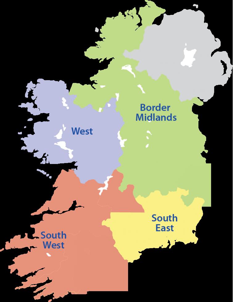 Map Of South Ireland.Social Framing Ireland Map 01 768x1086 1 Copy Social